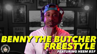 Photo of Benny The Butcher Freestyles over his own beat w/ Heem B$F (Bootleg Kev Freestyle #1)