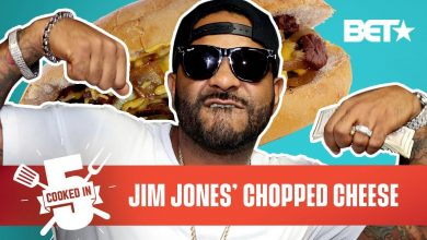Photo of Jim Jones Reps Harlem By Making A Chopped Cheese In Just 5 Minutes! | Cooked In 5