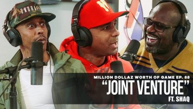 "Photo of Million Dollaz Worth of Game Episode 88: ""Joint Venture"" Featuring Shaq"