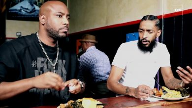 Photo of Nipsey Hussle On The Best Advice 50 Cent Gave Him & Being Compared To Early Jay-Z